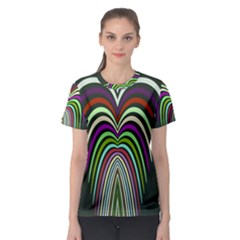 Symmetric waves Women s Sport Mesh Tee