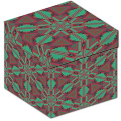 Green tribal star Storage Stool