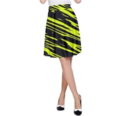 Camouflage A-line Skirt