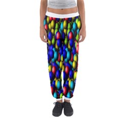 Colorful balls Women s Jogger Sweatpants