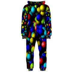 Colorful balls Hooded OnePiece Jumpsuit