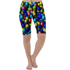 Colorful balls Cropped Leggings