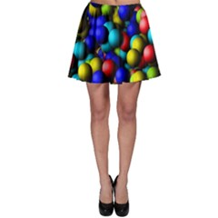 Colorful Balls Skater Skirt