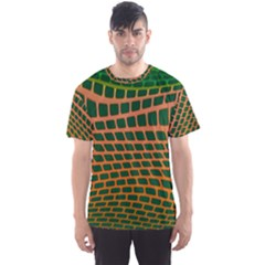 Distorted rectangles Men s Sport Mesh Tee