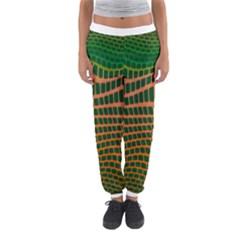 Distorted rectangles Women s Jogger Sweatpants