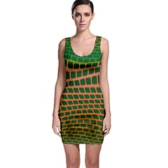 Distorted rectangles Bodycon Dress