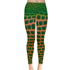 Distorted rectangles Leggings