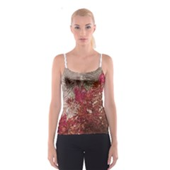 Floral Print Collage  Spaghetti Strap Top