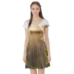 Sophia Short Sleeve Skater Dress