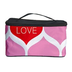 One Love Cosmetic Storage Case