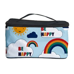 Be Happy Repeat Cosmetic Storage Case