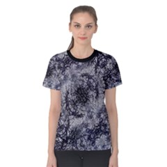 Nature Collage Print  Women s Cotton Tee
