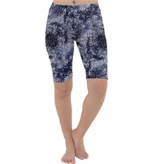 Nature Collage Print  Cropped Leggings