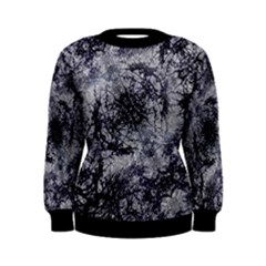 Nature Collage Print  Women s Sweatshirt