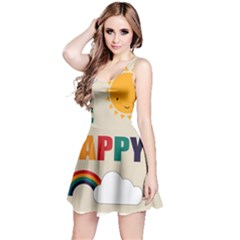 Be Happy Sleeveless Dress