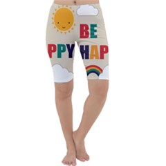 Be Happy Cropped Leggings