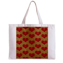 Sparkle Heart  Tiny Tote Bag