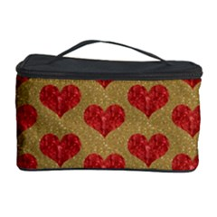 Sparkle Heart  Cosmetic Storage Case
