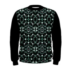 Futuristic Luxury Print Men s Sweatshirt