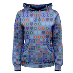 Peace And Lovepullover Hoodie