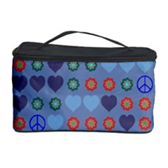 Peace and loveCosmetic Storage Case