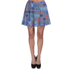 Peace and loveSkater Skirt