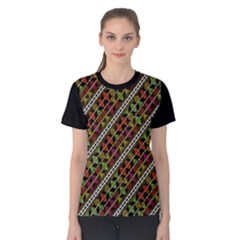 Colorful Tribal Print Women s Cotton Tee