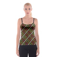 Colorful Tribal Print Spaghetti Strap Top