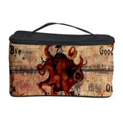 Here There Be Monsters Talking Board Cosmetic Storage Case