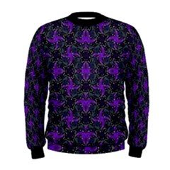 Luxury Pattern Print Men s Sweatshirt