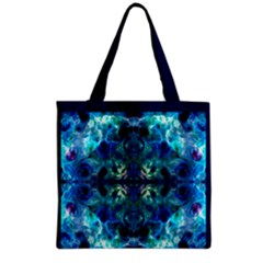 when eyes hear by saprillika Grocery Tote Bag