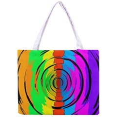 Rainbow Test Pattern Tiny Tote Bag