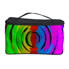 Rainbow Test Pattern Cosmetic Storage Case