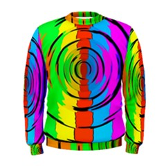 Rainbow Test Pattern Men s Sweatshirt