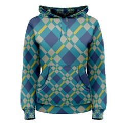 Squares and stripes pattern Pullover Hoodie