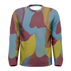 Watercolors Men Long Sleeve T-shirt