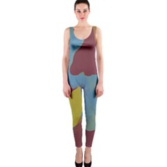 Watercolors OnePiece Catsuit