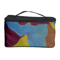 Watercolors Cosmetic Storage Case