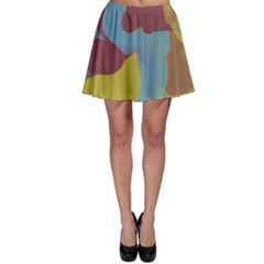 WatercolorsSkater Skirt