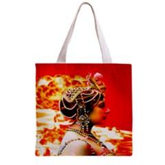 Mata Hari Grocery Tote Bag