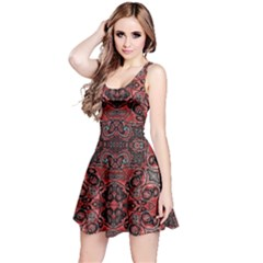 Luxury Ornate Reversible Sleeveless Dress