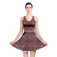 Luxury Ornate Reversible Skater Dress