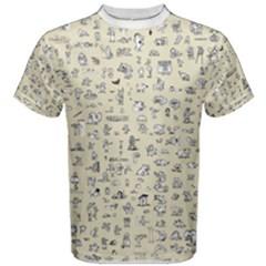 C64 Pixel Men s Cotton Tee