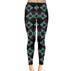 Elegant Pattern Print Leggings