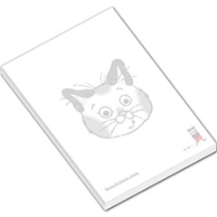 Busy Kitten memo pad