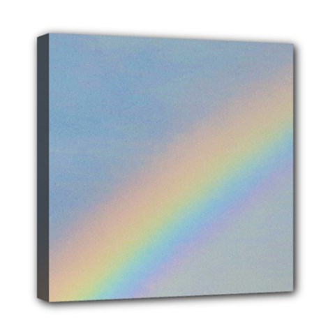 Rainbow Mini Canvas 8  x 8  (Framed)