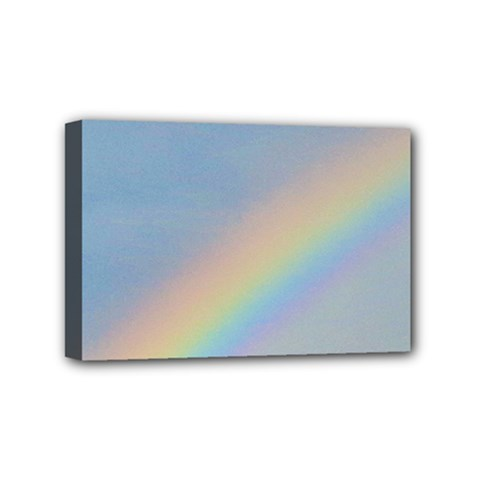 Rainbow Mini Canvas 6  X 4  (framed)