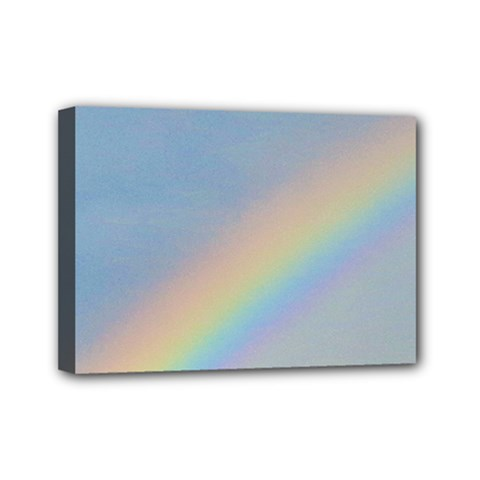 Rainbow Mini Canvas 7  x 5  (Framed)