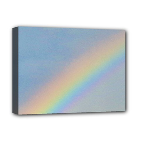 Rainbow Deluxe Canvas 16  x 12  (Framed)
