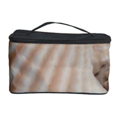 Sunny White Seashells Cosmetic Storage Case